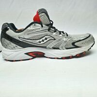 Saucony Grid Phantom Mens Running Shoes Gray S25141-2 Lace Up Low Top size 12