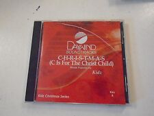 Christmas is the for Christ Child Kidz Daywind Soundtracks Key B Eddy Arnold