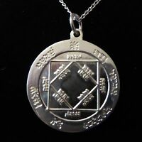 STERLING SILVER TALISMAN FOR RICHES Occult Magic Amulet Magick Witchcraft Wicca
