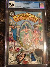 Wonder Woman #7 Vol 2 CGC 9.6 WHITE *1st New Cheetah* (Barbara Ann Minerva) HOT!