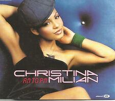 CHRISTINA MILIAN & E SMOOVE Am to Pm REMIXES & VIDEO CD single SEALED USA seller
