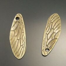 10 pcs Antiqued Bronze Alloy Bird Wing Charms Pendant Craft Findings 02492