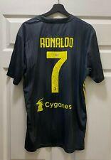 Cristiano Ronaldo #7 Signed Adidas Soccer Jersey AUTO Sz XL BAS WITNESSED COA