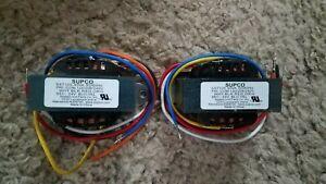 2 Count Lot Supco SXT105 Transformer 40VA 50/60Hz (145)