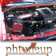 RED 1992-2003 MITSUBISHI MONTERO SPORT/FULL SIZE 3.0 3.0L AIR INTAKE KIT SYSTEMS