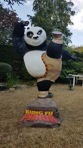 Po KUNG FU PANDA statue 1:1 taille réelle Oxmox Studio & Muckle Mannequins RARE