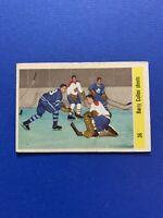 1958-59 Parkhurst#36 Barry Cullen Shoots Toronto/Montreal VG+
