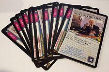 X-Files LOT of ( 10 ) CCG PROMO Cards PR97-0012-COM Fox 1997 NOT ON THE MENU