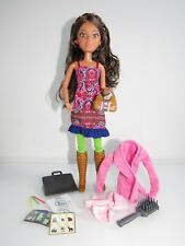 NEW SPIN MASTER ACRYLIC EYES JOINTED ALEXIS LIV DOLL, OUTFIT,BOOTS,ART ACCS.,WIG