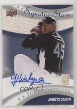 2009 Upper Deck Signature Stars Jhoulys Chacin #186 Rookie Auto