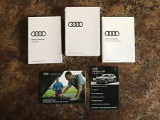 2020 Audi Q5 Owners Manual w/ Holder & Supplements - #A