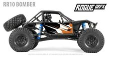 Axial RR10 Bomber Body Graphic Wrap Skin- Go Fast Orange