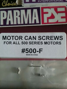 Parma 500-F Motor Can Screws For All 500 Series Motors - Hard To Find  - Qty. 4
