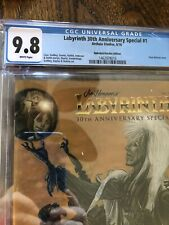 Labyrinth 30th Anniversary Special #1 Variant Archaia CGC 9.8 White Pages 2016