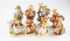 Lot of 8 Vintage Hummel Porcelain Figurines Goebel W. Germany Great Collection!