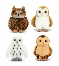 18cm Owl Soft Toy Assorted Colours Keel Toys Barn Bird Cute New Gift Wild