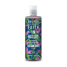 💚 Faith in Nature Natural Lavender & Geranium Body Wash 400ml