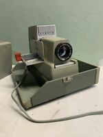 Vintage Argus 500 Automatic Slide Projector Model V - POWERS ON COOL OLD DECOR
