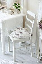 Kissen Rüschenkissen Zierkissen Herzkissen Rosen Shabby Chic Landhaus Vintage
