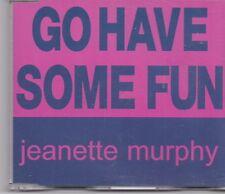 Jeanette Murhy-Go Have Some Fun cd maxi single
