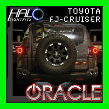 FOR TOYOTA FJ CRUISER 2007-2011 LED TAIL LIGHT HALO RING KIT BY ORACLE LIGHTING