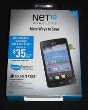 New Net10  LG L15G Sunrise 3G Android Prepaid Smartphone-Sealed Retail Packaging