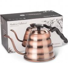 Handbrüh-Kaffeekessel 1,2 L aus Edelstahl Damit Ihre Bohnen nicht mehr verbren