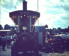 Garrett Showmans Traction Engine BJ 4308 Original slide 1970s