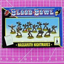 Classic Blood Bowl Naggaroth Nightmares Dark Elf Bloodbowl Team - Games Workshop