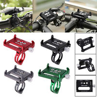 Metal Solid Bike Bicycle Motorcycle Handle Phone Mount Holder For Cellphone