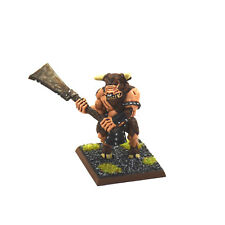 BEASTMEN Minotaur #2 WELL PAINTED METAL Warhammer Fantasy