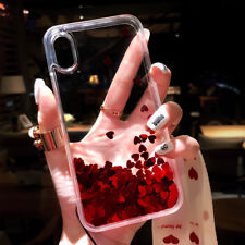 Shockproof Bling Dynamic Liquid Glitter Quicksand Case Cover For iPhone 7 8 Plus