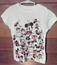 'DISNEY'  Minnie Mouse T Tee Shirt/Top Girl's Blouse Size S 100% Cotton  (A-18)