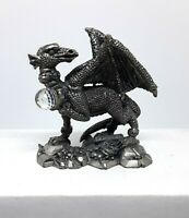 Tudor Mint - The Jeweled Dragon - Pewter Figurine