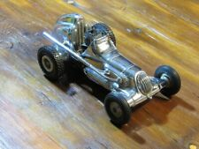 1950's Roy Cox Thimble-Drome Champion Tether Car in Chrome with motor