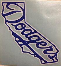 La Los Angeles Dodgers California Cali 2 Color Vinyl Decal For Cars Windows