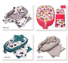 Super Babynest ,Baby nest, Schlafnest für Babys, Minky Lafel