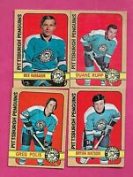 1972-73 OPC PITTSBURGH PENGUINS   CARD LOT (INV# C3636)