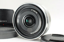 [Excellent++] Sony 16mm f/2.8 SEL16F28 Wide Fix Pancake For Sony E Mount w/ Caps