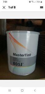 DuPont Axalta Mastertint Cromax GALLON 805j Master Tint Jet Black chromabase