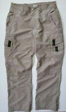 Magellan Sportswear Cargo Utility Polyester Straight Leg Outdoors Pants Mens 36