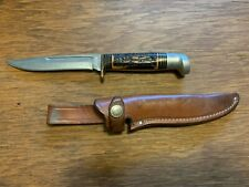 1980 Western S-H48A Knife with Original Leather Sheath
