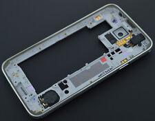 Samsung Galaxy S5 G900A G900T G900V G900P G900 Housing Middle Frame Bezel Silver