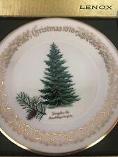 "Lenox Limited Christmas 1976 Commemorative Issue Douglas Fir Plate 10"""