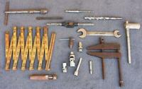 Vintage tools lot mixed Estate Find Unusual Old american Made Other clamp VA