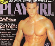 PLAYGIRL 7-00 JULY 2000 JEAN VILLETTE HAIRY CHRISTIAN! STRIPPERS! TOMMY EVANS
