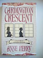 Anne Perry--CARDINGTON CRESCENT 1st ed 1st ptg HCDJ Fine/Fine Thomas Pitt