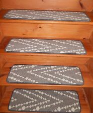 "13 Step 9"" X 30"" + Landing 30'' x 30''  Stair Treads WOOL Carpet."