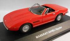 Coches, camiones y furgonetas de automodelismo y aeromodelismo de metal blanco Maserati