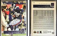Ike Hilliard Signed 2002 Upper Deck #113 Card New York Giants Auto Autograph